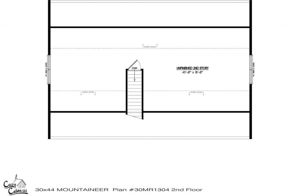 Mountaineer 30MR1304 second floor