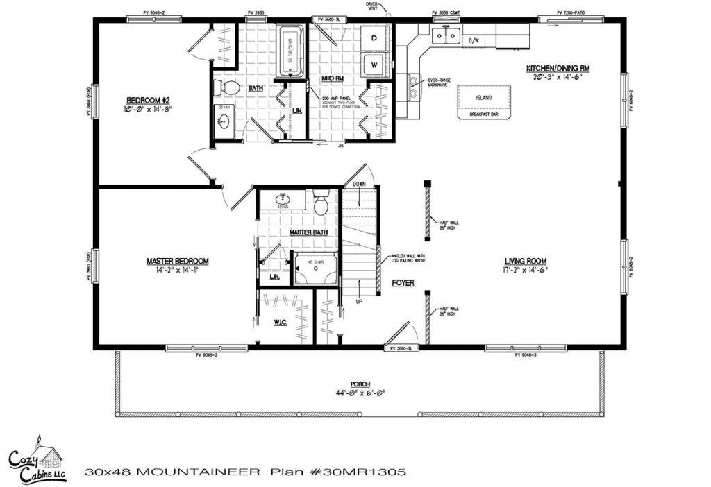 Mountaineer 30MR1305 first floor
