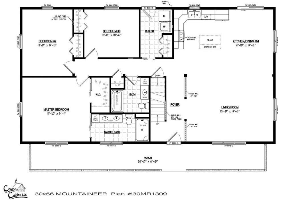 Mountaineer 30MR1309 first floor