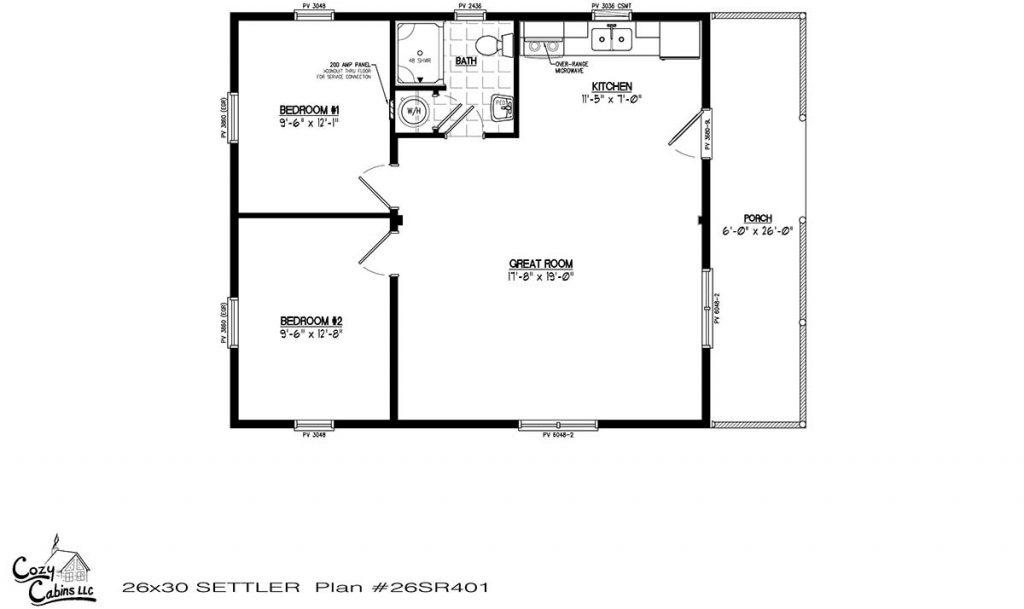 Settler 26SR401