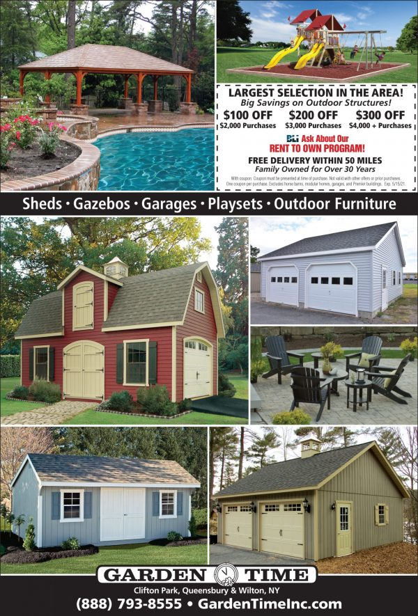 Savings on Outdoor Structures