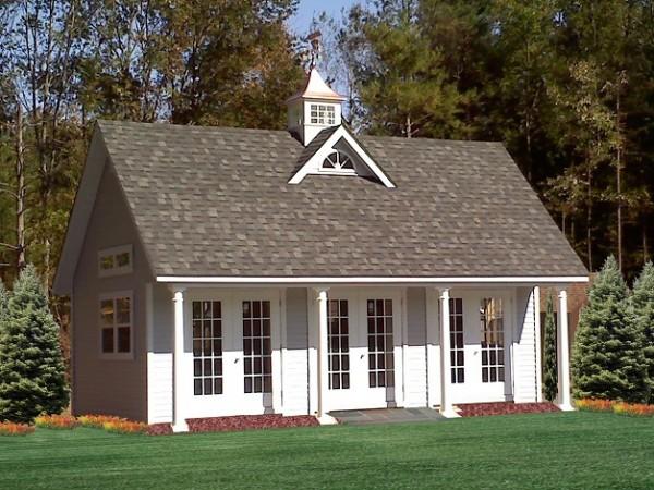 14' X 26' Poolhouse