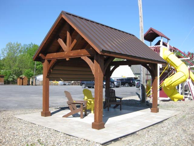 10' X 14' Cedar Alpine Pavilion : Image 2