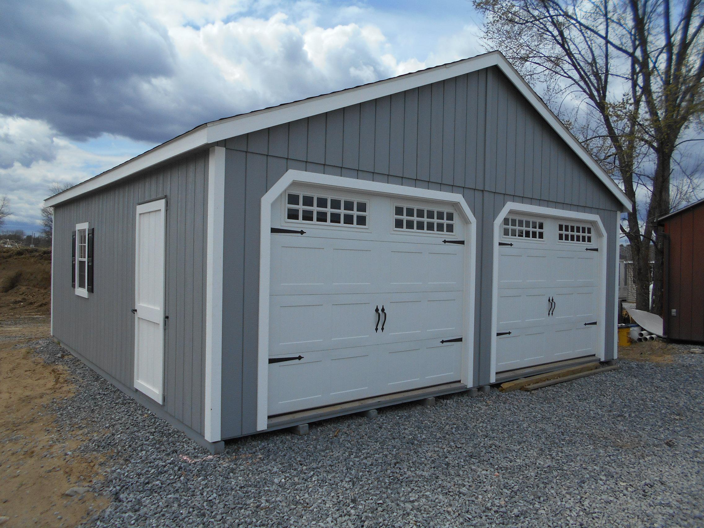 24' X 24' Duratemp Garage at Garden Time Nursery and Garden Center  X Garage on