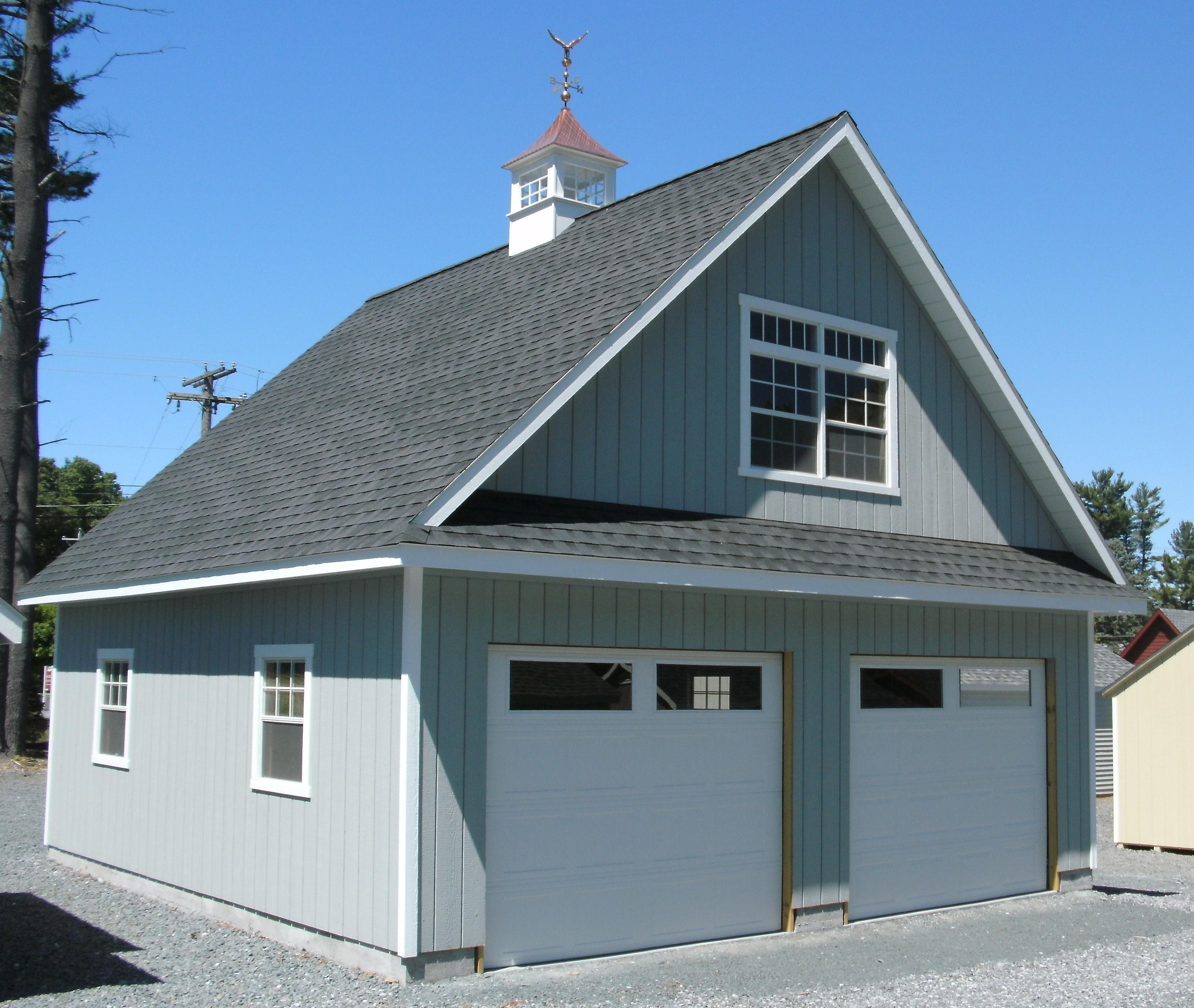 24' X 24' Duratemp Garage : Image 1