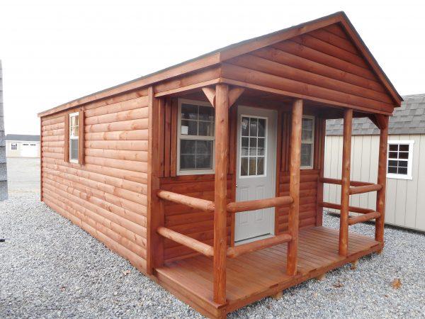 12' X 24' Log cabin