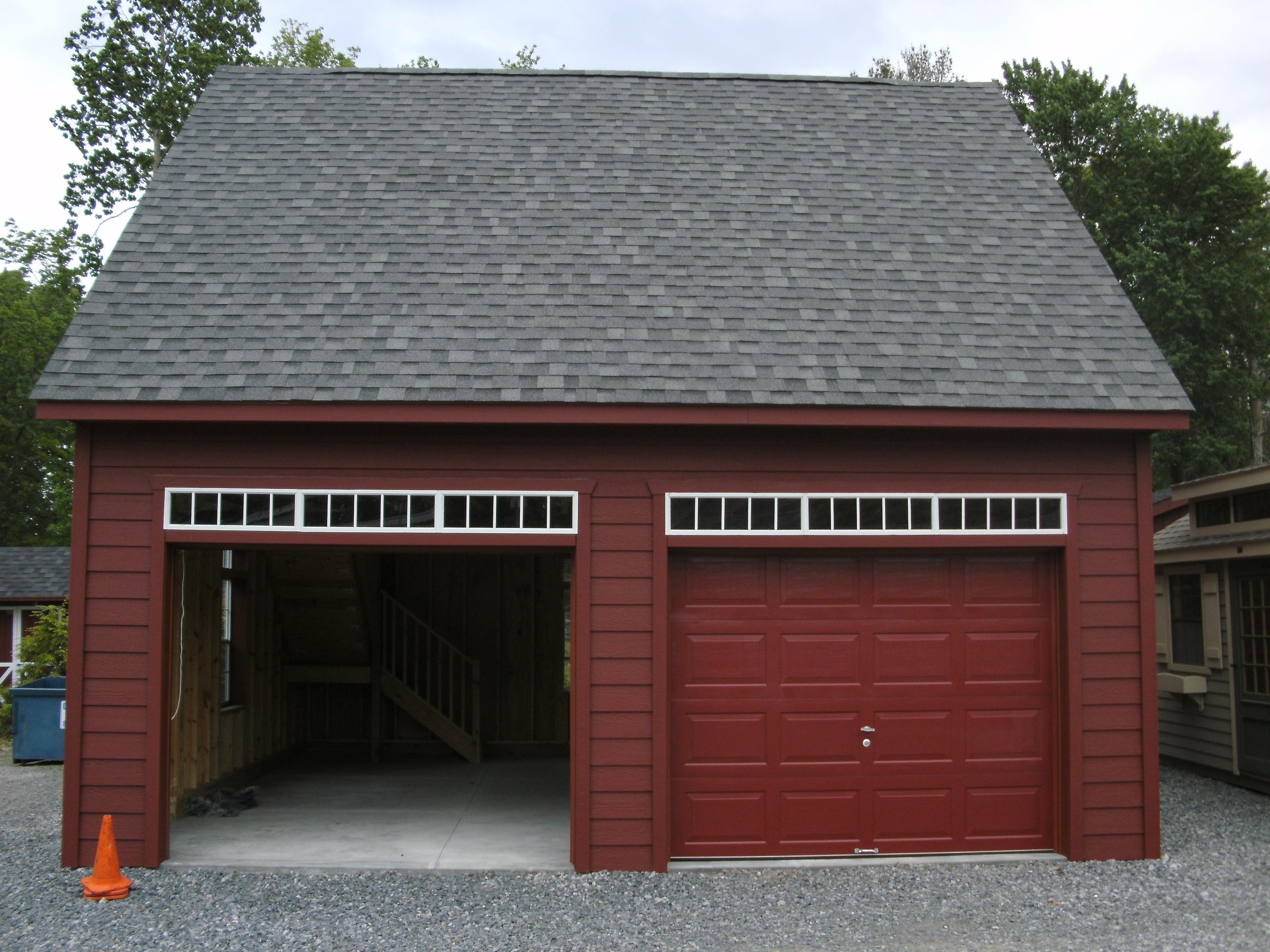24' X 24' Lp Smartside Garage : Image 1