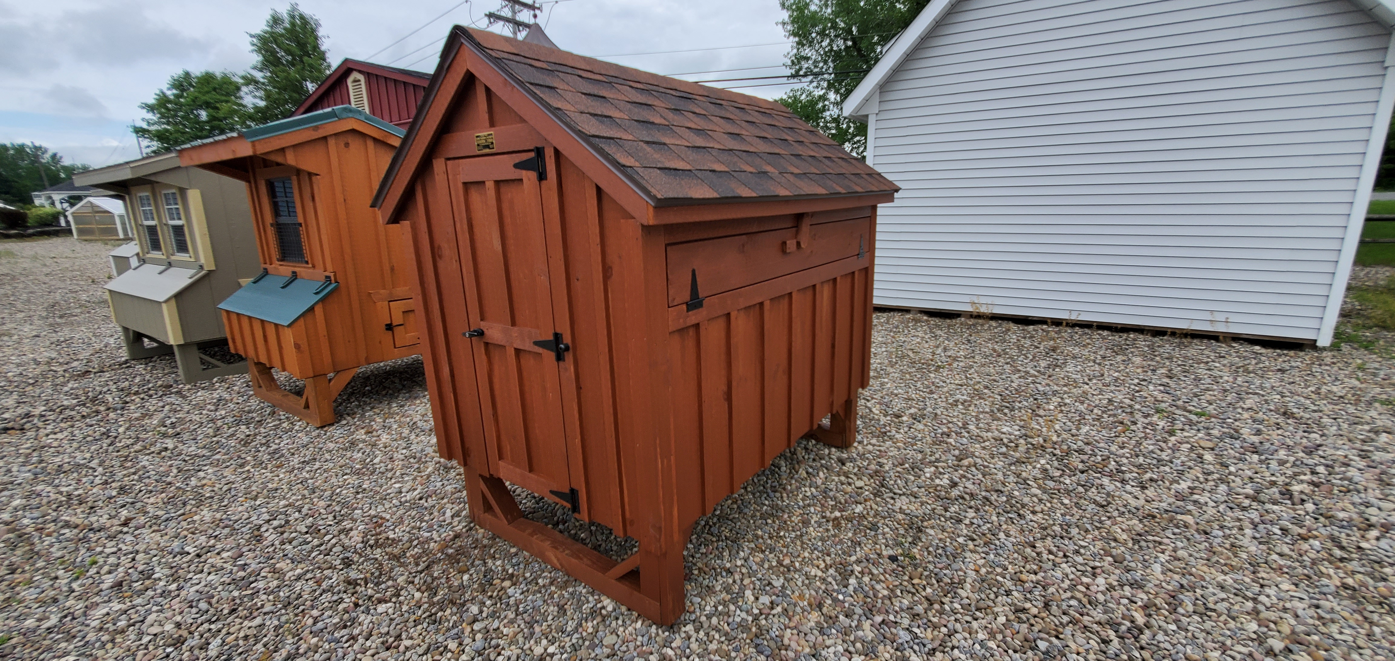 04' X 06' B&b Chicken Coop : Image 2